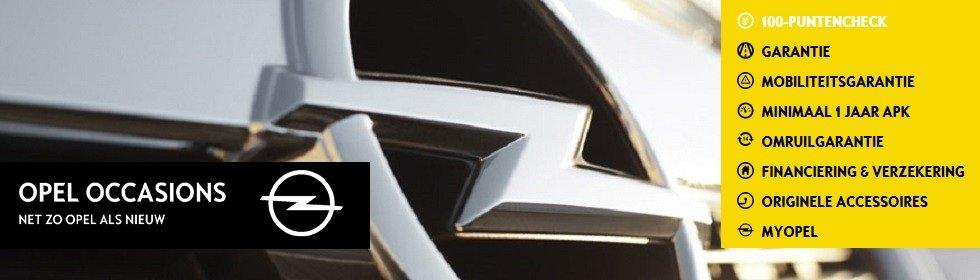 Zoek hier snel en eenvoudig uw Opel Occasion!  Een Opel Occasion wordt exclusief geleverd door de officiële Opel dealer