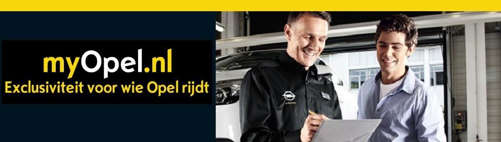 Schrijf u vandaag nog in op myOpel.nl  Stap aan boord en ontdek de Opel Service Belofte!